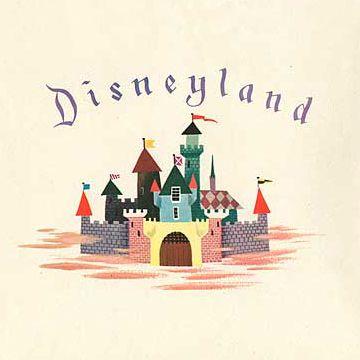 Disneyland Castle art  Www.extendedqueue.com