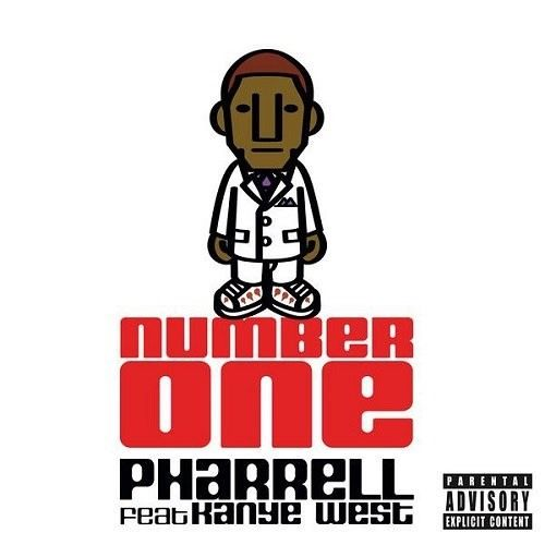 Pharrell Williams, Kanye West – Number One (single cover art)