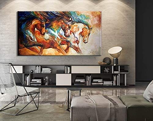 Pin On Horses Amazon paintings for living room