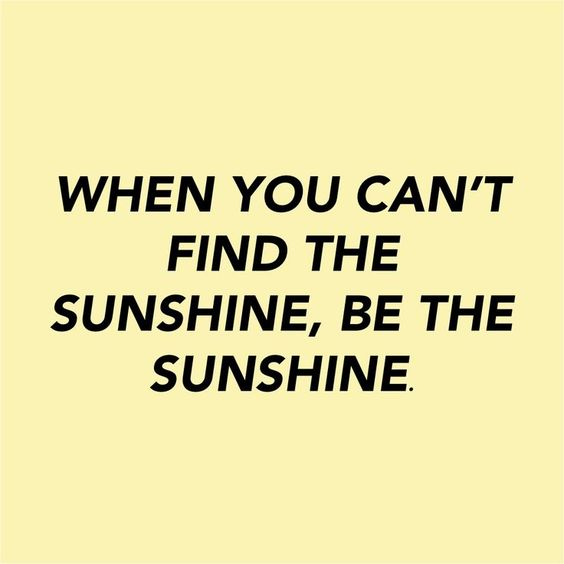 be da sunshine | ban.do: