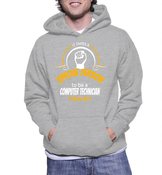 It Takes A Special Person To Be A Computer Technician Hoodie