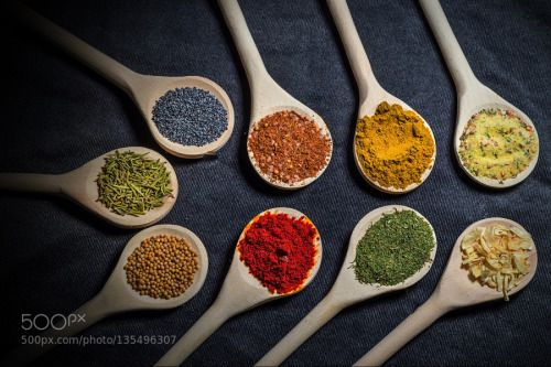 Ingredients2 by OvidiuSova  IFTTT 500px closeup food healthy natural red spices