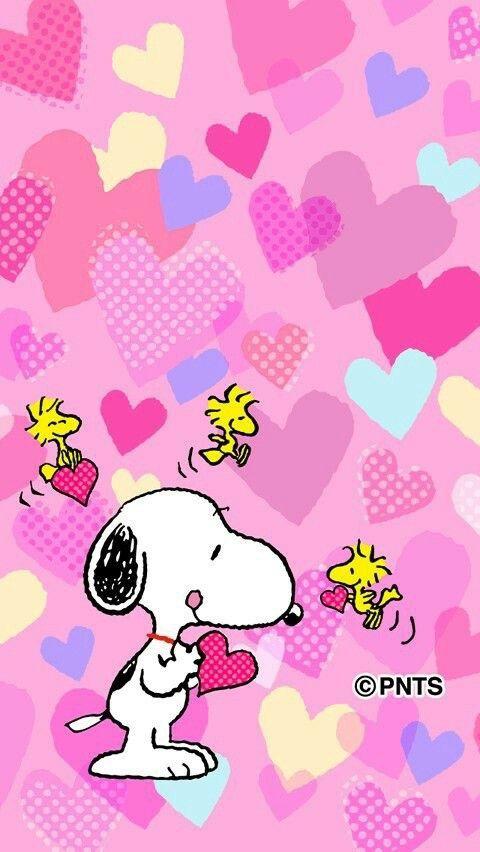 Papel De Parede Snoopy Snoopy Valentine Snoopy Wallpaper