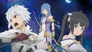 Yuka Iguchi Onaji Sora No Shita De Theme Song Danmachi Movie 2019 Arrow Of The Orion Tv Anime Danmachi Movie Is Anime Anime Ost Anime Reviews