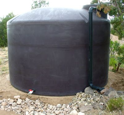 Alt. Build Blog: Designing And Installing A Rain Water Catchment System: