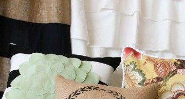 Aprenda como fazer cortinas e Travesseiros com esse vídeo costura Course!