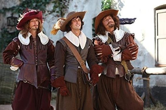 Die Drei Musketiere - Kampf um Frankreichs Krone - Aramis, d'Artagnan, Porthos Russische Verfilmung - sehr charmant   - 500 min
