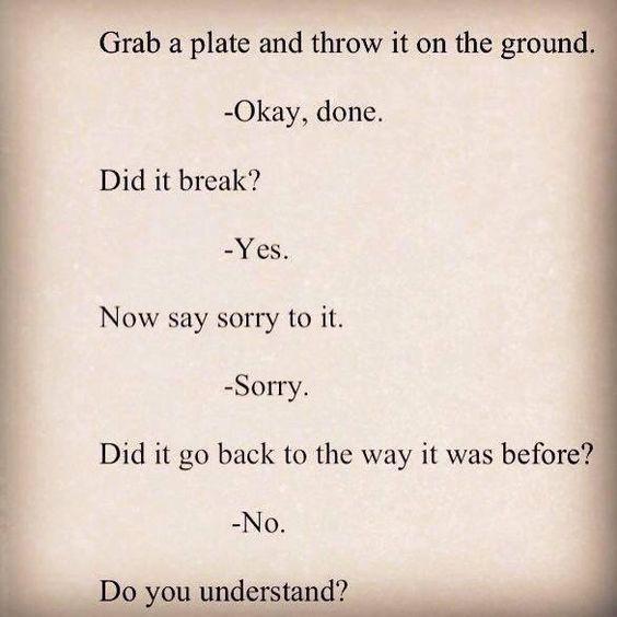 How do I say sorry to my teacher?