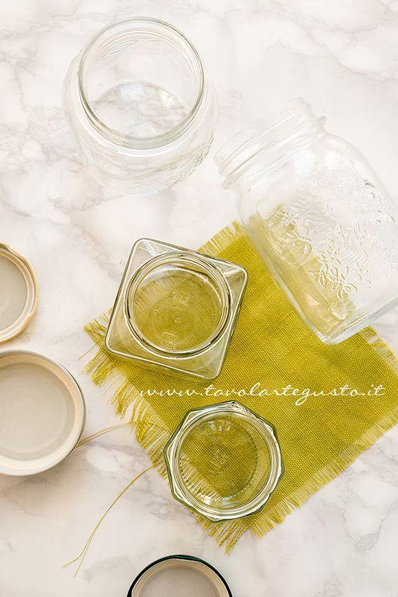 Scegliere i Vasetti per Conserve e Mamellate- Sterilizzare i Vasetti di vetro per le Conserve  <3