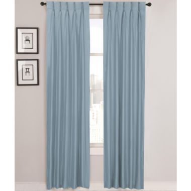 Cream Colored Pinch Pleated Curtains Mom And Dad 39 S House