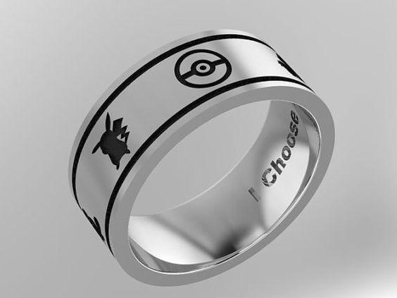 CUSTOM Pokemon Ring by mooredesign13 on Etsy
