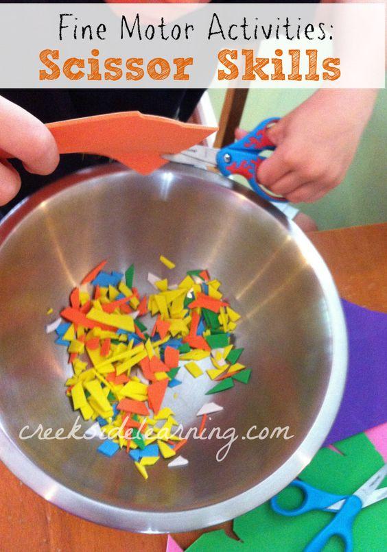 Fine Motor Activities And Preschool On Pinterest