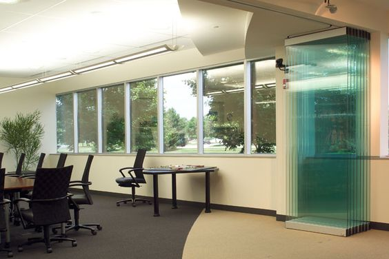 Modernfold operable partitions folding partitions glass for Lotus operable walls