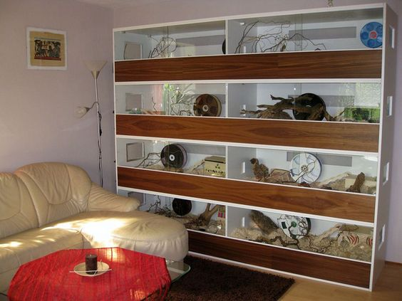 Another completely gorgeous rodent cage. The rats are getting new digs soon, for sure :)