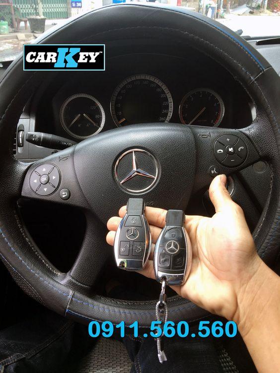 chìa khóa ô tô Mercedes C200