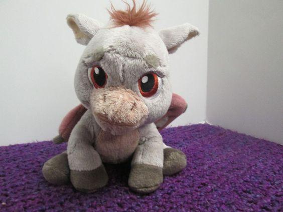 Dreamworks Shrek 10 Quot Plush Gray Dronkey Baby Dragon Donkey