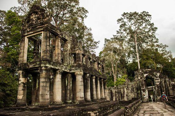 Ngôi đền với vẻ đẹp hùng vĩ và cổ kính