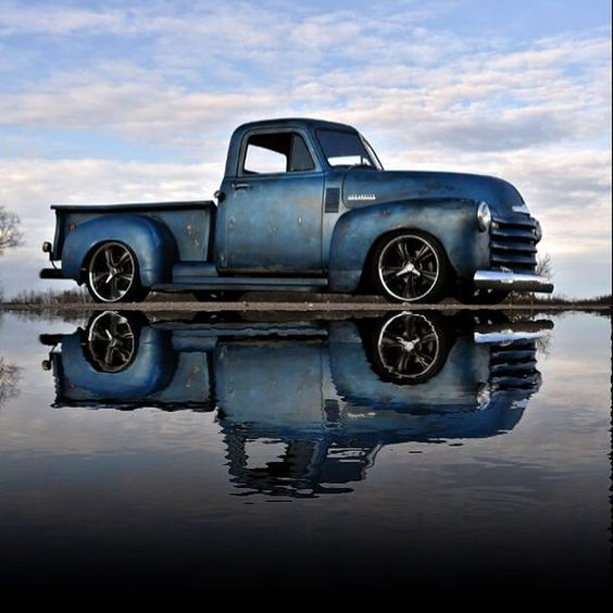 Chevy Truck dropped