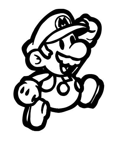 Super Mario Brothers Decal By Coolstufftexas On Etsy Mario Coloring Pages Super Mario Coloring Pages Mario Brothers
