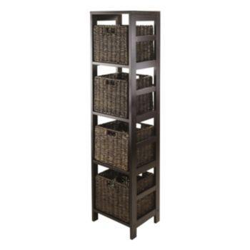 Winsome Granville 5-Tier Open Storage Shelf