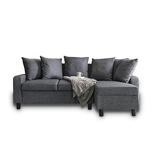 Utilize The Small Corner Sofa At Any Of Your Rooms Grey Corner Sofa Sofa Corner Sofa