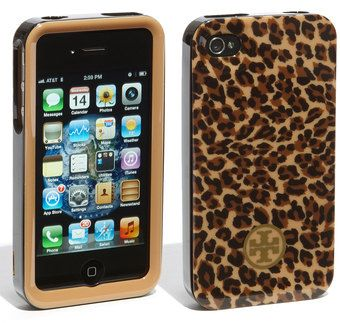 Tory Burch Iphone 4 case...must have!