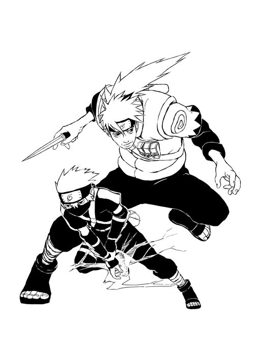 The white fang and his little boy