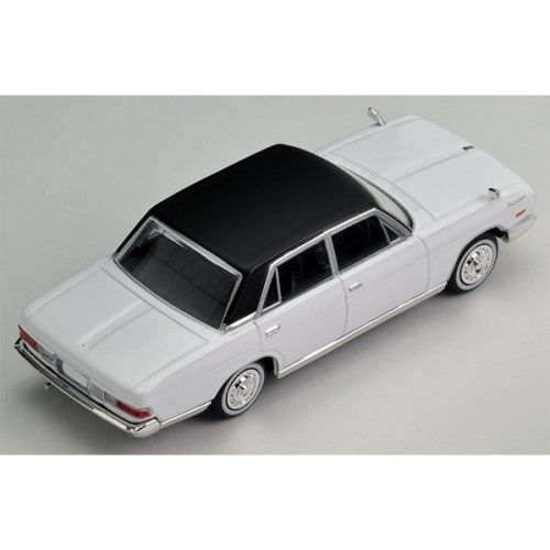 Tomica Limited Vintage TLV-164b Nissan President Type B White/Black - 1/64 Scale