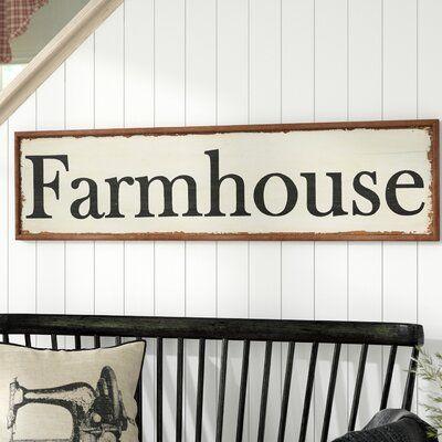 Laurel Foundry Modern Farmhouse Wood Hand Painted Farmhouse Wall Decor Farmhouse Wall Decor Country Farmhouse Decor Farmhouse Style Kitchen