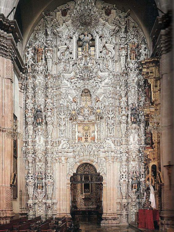 https://flic.kr/p/8ESqzU | Portada del Camarín de la Virgen del Carmen, Templo del Convento del Carmen, Cdad. de San Luis Potosí, S.L.P.