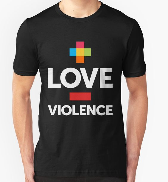 More Love. Less Violence. by cidolopez