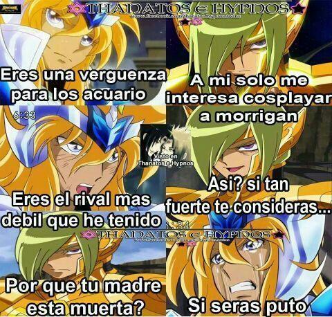 Memes Zodiacales Ilucion Memes Imagenes Caballeros Del Zodiaco Saint Seiya