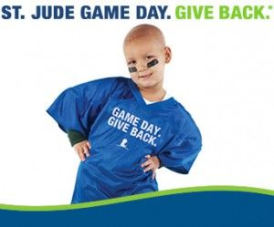 Game Day. Give Back to St. Jude's