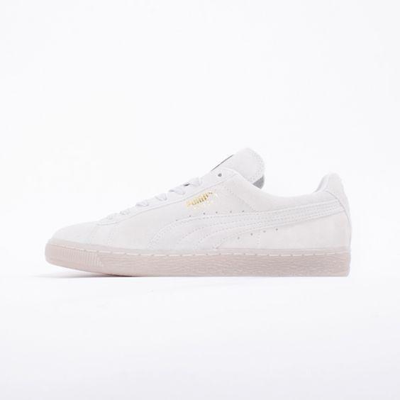 puma suede classic white