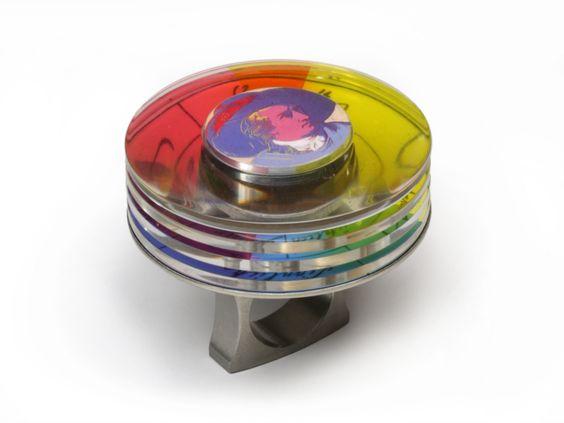 Kinetic jeweler Michael Berger's Goethe ring