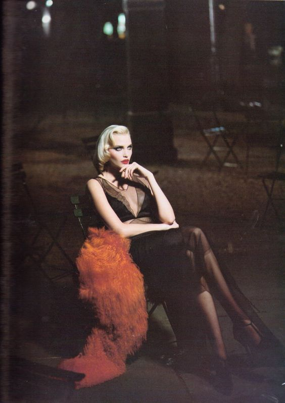 """Day Into Night"" by Steven Meisel for Vogue Italia, August 1994"
