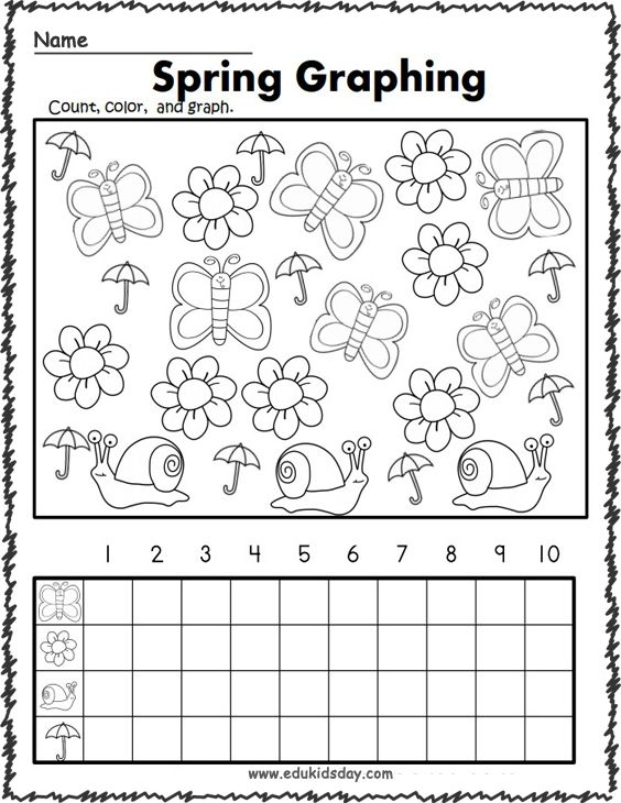 Amazing Of Free Worksheets For Kindergarten In 2020 Free Kindergarten Worksheets Kindergarten Math Free Spring Math