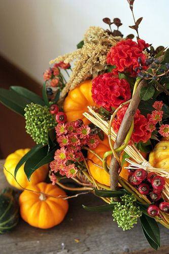 Fall arrangement: