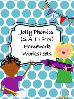 Jolly Phonics Workbook 1   phonics activities   Pinterest