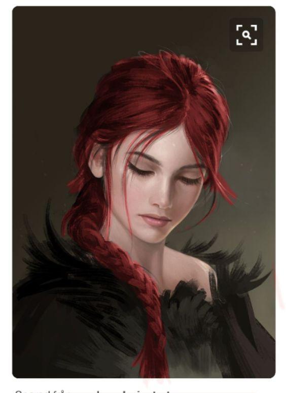 Kariana as redhead
