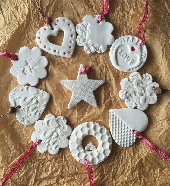 Tutorial decoraciones navide as con pasta de modelar - Decoracion de navidad casera ...