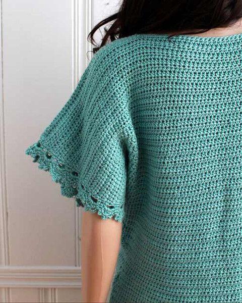 Crochet Yacht Patterns : Easy Boat Neck Tunic Crochet Pattern Collo Della Barca, Motivi Per ...