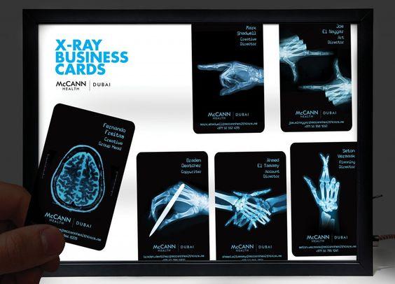 ヘルスケア専門広告代理店による「X線名刺」 | AdGang