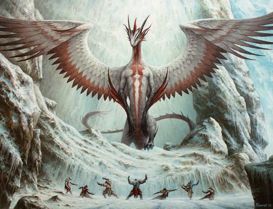 Dragons of Tarkir Art by Filip Burburan: