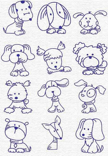 Dog drawings doodles and dogs on pinterest for Cute little doodles to draw