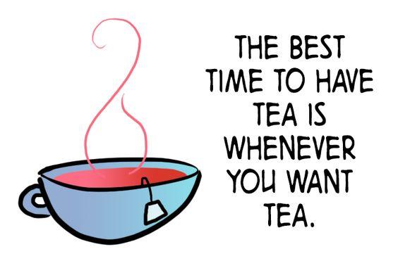 This made me laugh!  tea!
