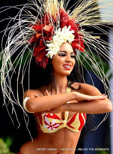:::: ✿⊱╮☼ ☾ PINTEREST.COM christiancross ☀❤•♥•* ::::Tahitian Dancer