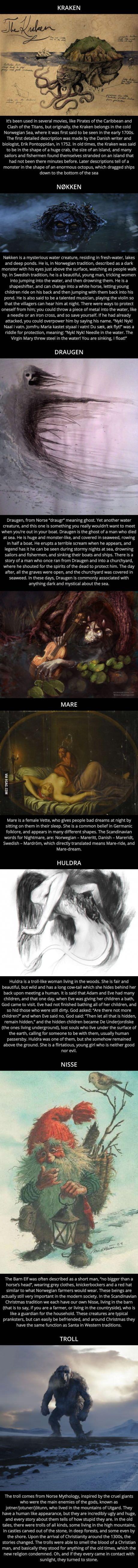 Nordic folklore: