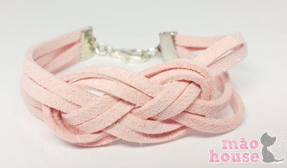 Infinity Suede Bracelet
