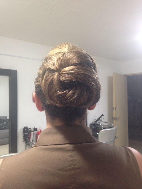 hair bun :)